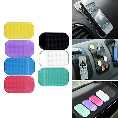 Girl12Queen Car Magic Anti-Slip Dashboard Sticky Pad Non-slip Mat GPS Phone Holder Accessory