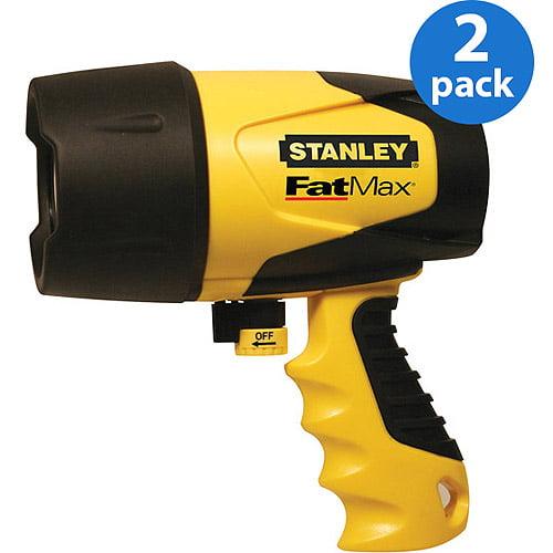 Stanley Waterproof Spotlight with *Bonus* Headlamp, 2 Pack Bundle