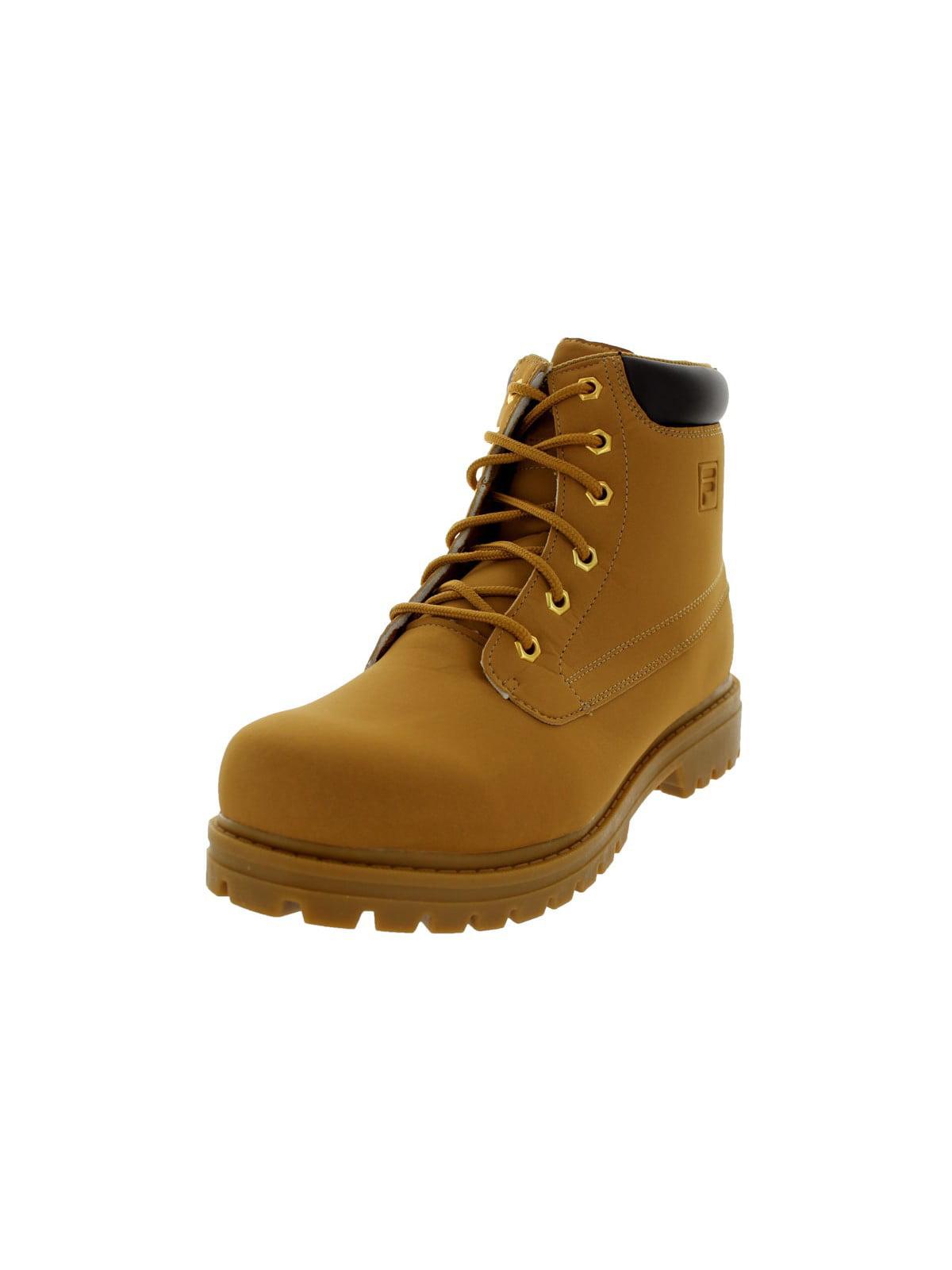 Fila 1SH40063-206 : Men's Edgewater 12 Hiking Boot Wheat Gum (12 D(M) US) by Fila