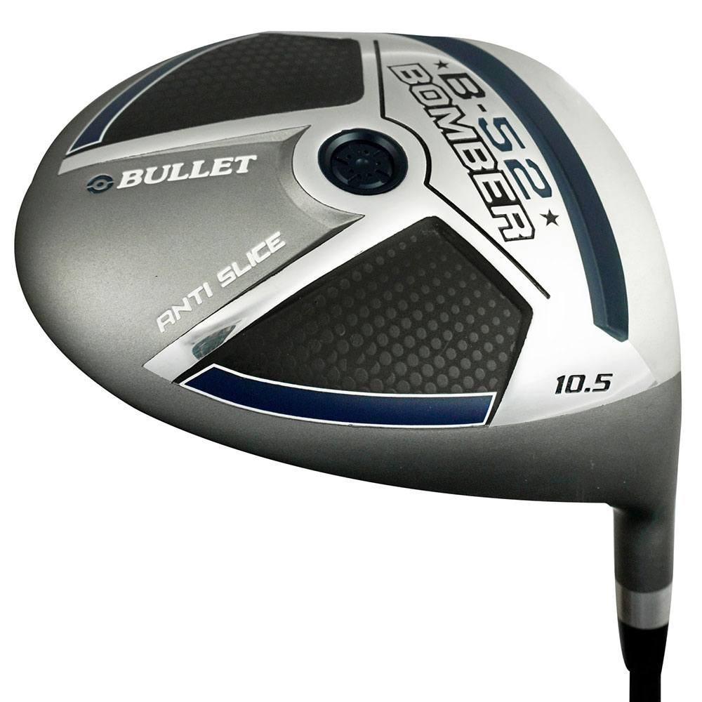 Bullet Golf- 2017 B52 Bomber Anti Slice Driver by Bullet