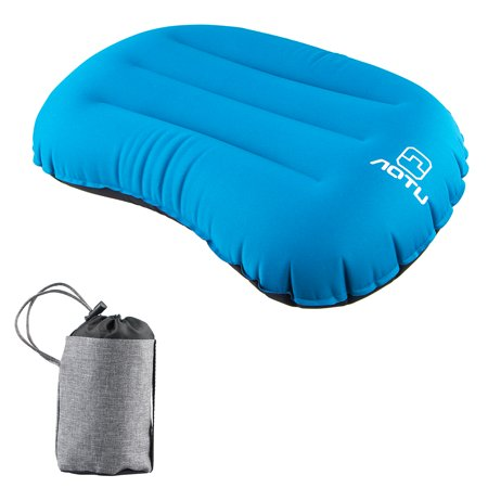EEEKit Air Compressible Portable Blow Up Ultralight Inflatable Camping Outdoor Pillow, Inflating Comfortable Compact Lightweight Pillow for Neck & Lumbar Support and a Good Night Sleep, Backpacking - Blow Up Noisemakers