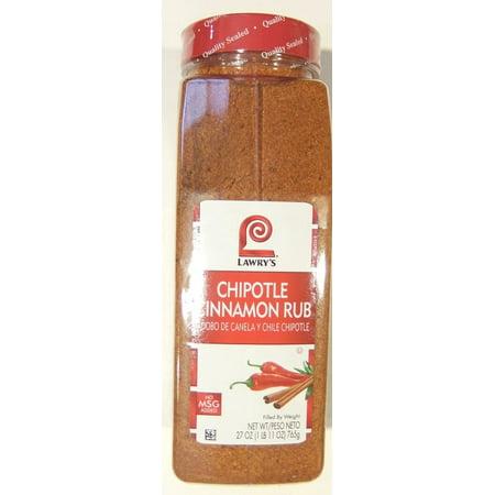 Lawry's Chipotle Cinnamon Rub 27 Ounce](Chipotle Halloween)