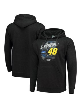 aed834572606 Product Image Jimmie Johnson Checkered Flag Sponsor Pullover Hoodie -  Heathered Charcoal