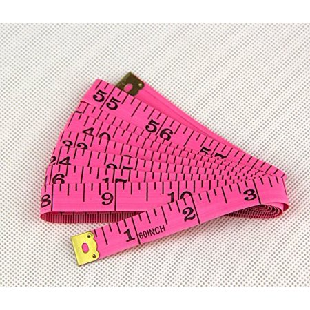 Sewing Machine 1Pcs Pink Pvc Material Body Measuring Tape Cloth Sewing Ruler Gauge And Tailor Of Tape Measure 60 Inch & - Gauge Measures