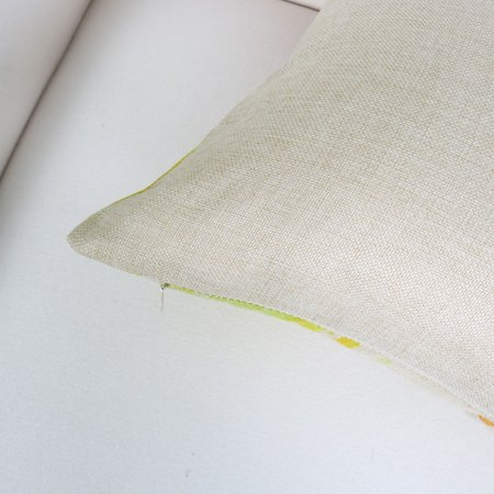 Piccocasa Linen Red Lip Pattern Cushion Cover 45 x 45cm - image 5 of 7