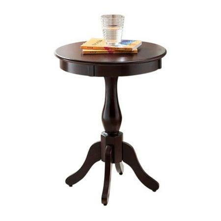 - K&B Furniture Pedestal End Table