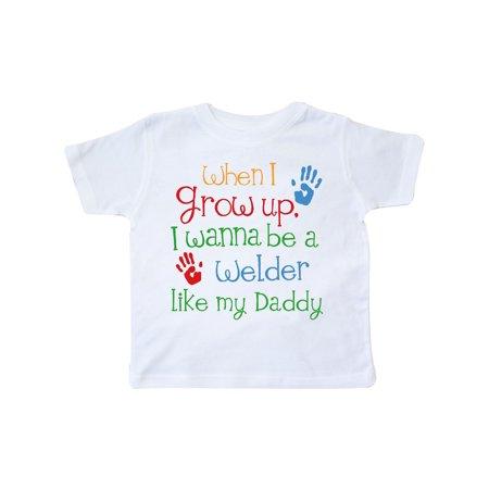 Welder like Daddy Toddler T-Shirt ()