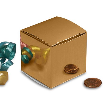 Metallic Gold Gift Boxes 3