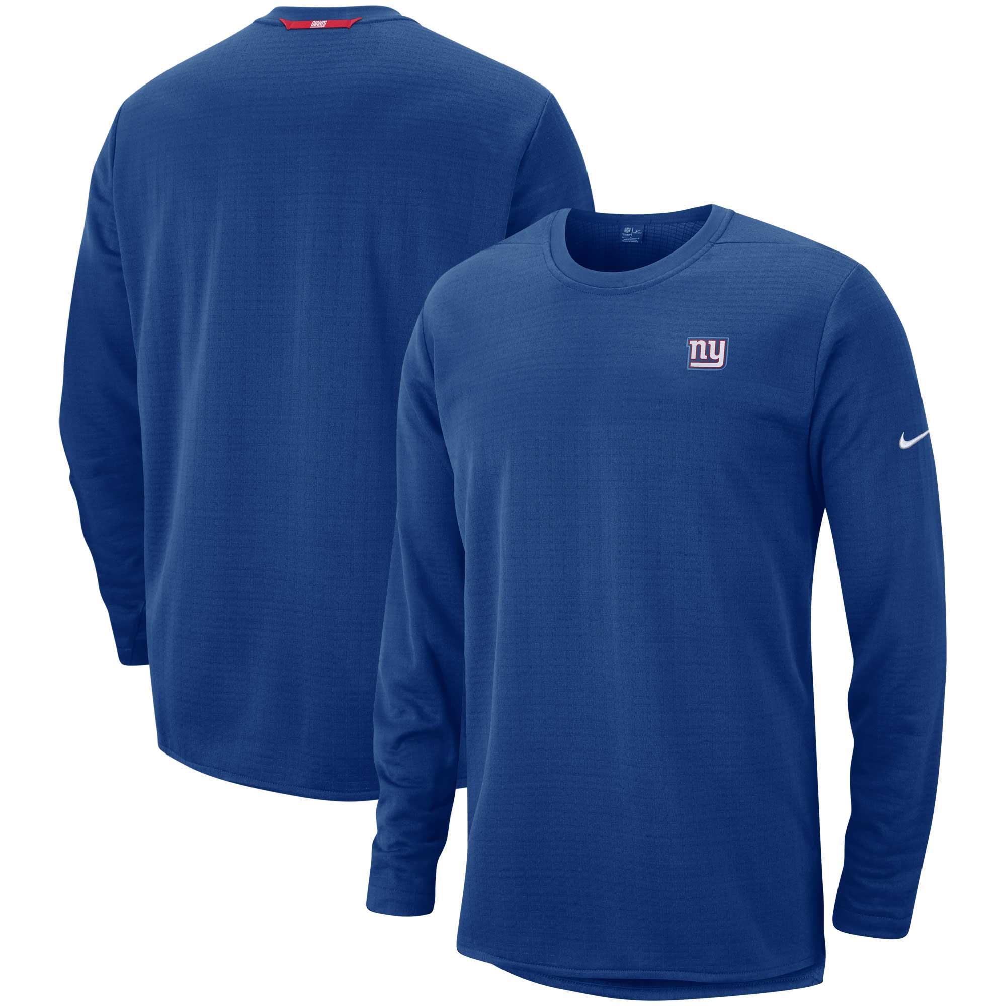 New York Giants Nike Sideline Modern Pullover Sweatshirt - Royal