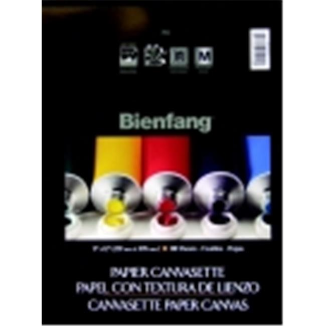 Bienfang Paper Pre-Primed Canvasette Panel - 9 x 12 inch - Pack 10