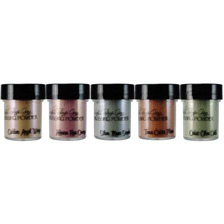 Lindy's Stamp Gang 2-Tone Embossing Powders .5oz 5/Pkg-Nantucket Pearls - image 1 de 2
