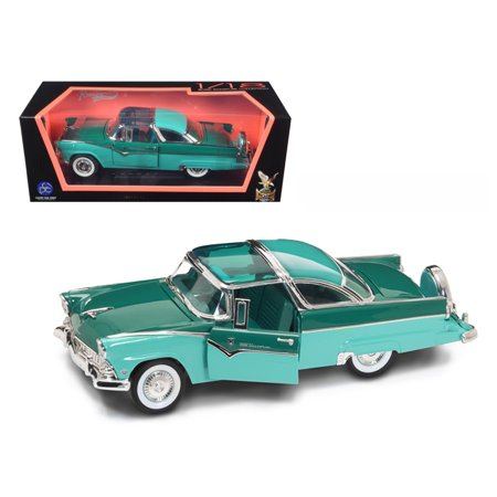 1955 Ford Fairlane Crown Victoria Green 1/18 Diecast Car by Road