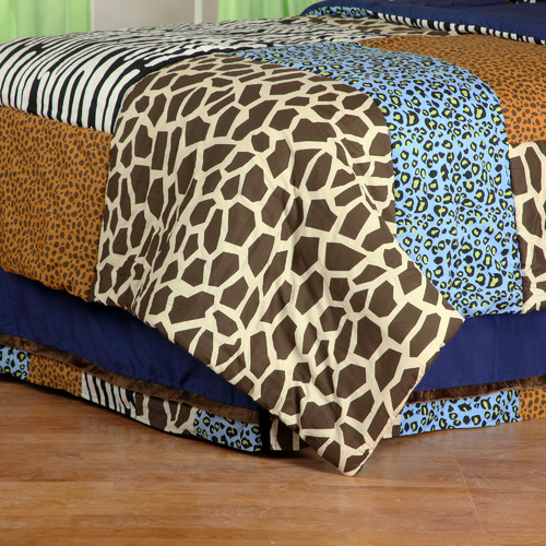 One Grace Place Jazzie Jungle Boy Bed Skirt