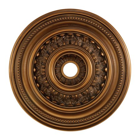 "Elk Lighting English Study 32"" Medallion Ceiling Canopy in Bronze"