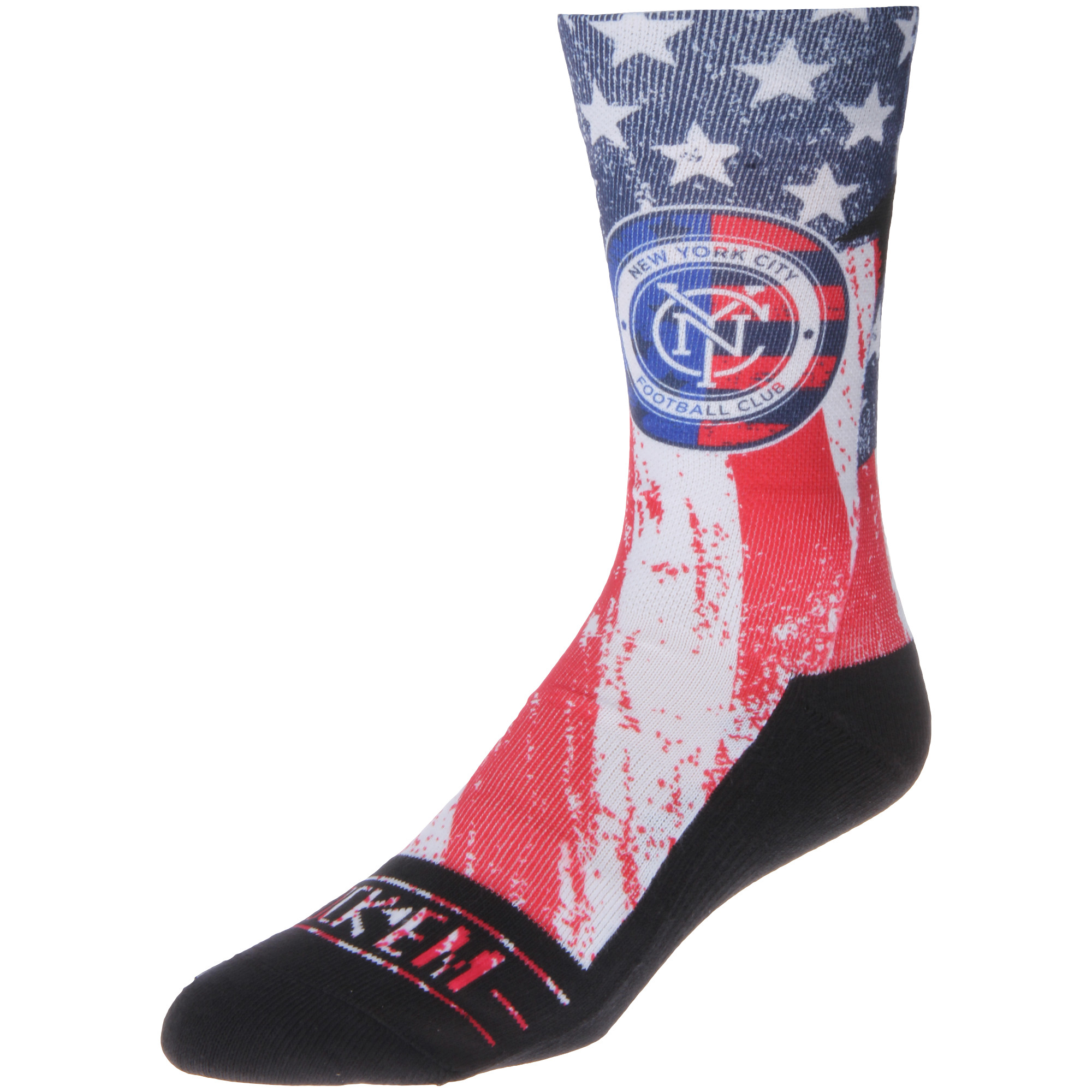 New York City FC For Club and Country Socks - Blue