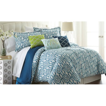 Image of 200 Thread Count 100% Cotton 6-piece comforter set Edna Queen