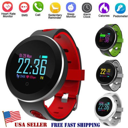 2018 New Q8 PRO Waterproof Sport Smart Watch Blood Pressure Heart Rate Monitor for iOS