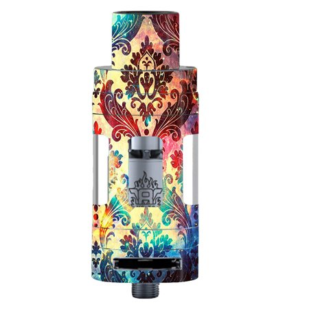 Skins Decals For Smok Tfv8 Tank Vape Mod / Galaxy Paisley Antique