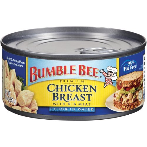 Bumble Bee Chunk Chicken Breast In Water With Rib Meat, 10 oz