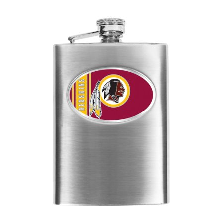 Washington Redskins Stainless Steel Flask - No Size