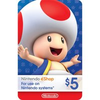 eCash - Nintendo eShop Gift Card $5 (Digital Download)