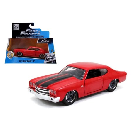 1970 Chevrolet Chevelle Ss - JADA 1:32 W/B - FAST & FURIOUS - DOM'S 1970 CHEVROLET CHEVELLE SS