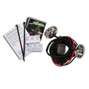 Pr/Accent Light Kit Oval Grn