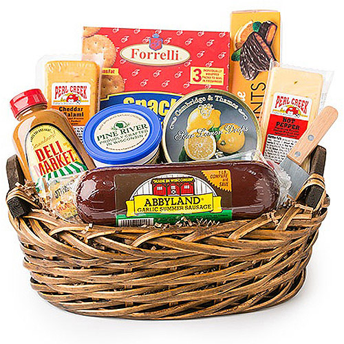 Deli Direct Wisconsin Cheese and Sausage Medium Gift Pack