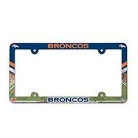 Denver Broncos Full Color License Plate Frame