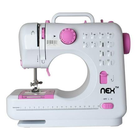 NEX NECS40WM Portable Sewing NEX Machine With 40 Builtin Extraordinary Portable Sewing Machine