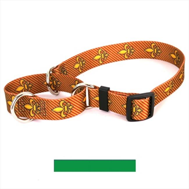 Yellow Dog Design M-KG101S Solid Kelly Green Martingale Collar - Small
