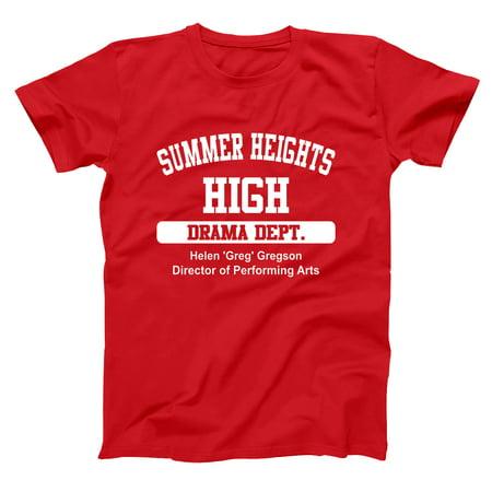 Summer Heights High Small Red Basic Men's T-Shirt (Best Of Summer Heights High)
