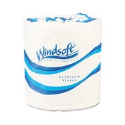 Windsoft White 1-Ply Toilet Tissue Rolls, 1000 sheets, 96 rolls