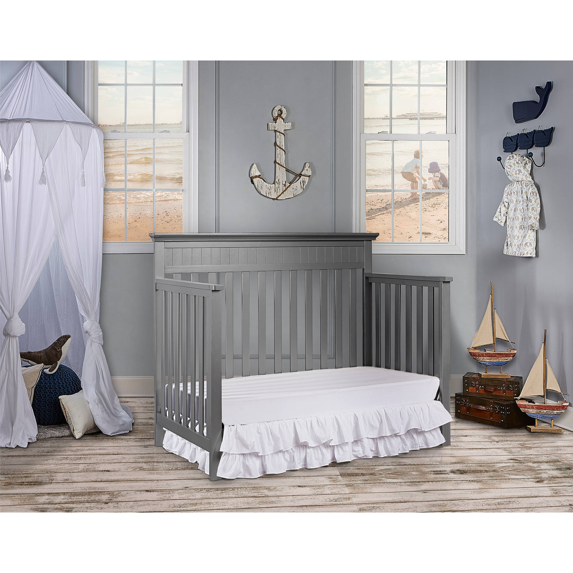 stylish sustainable sophisticated crib pin slate convertible eco dorchester the r is chic sculpted babies cribs us baby