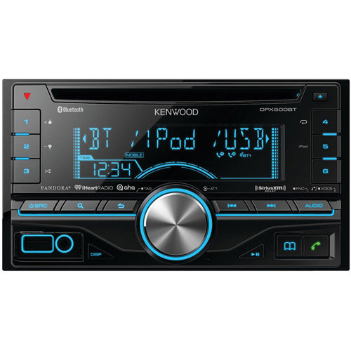 KENWOOD DPX500BT Double-DIN SiriusXM(R)-Ready CD Receiver with Bluetooth(R)