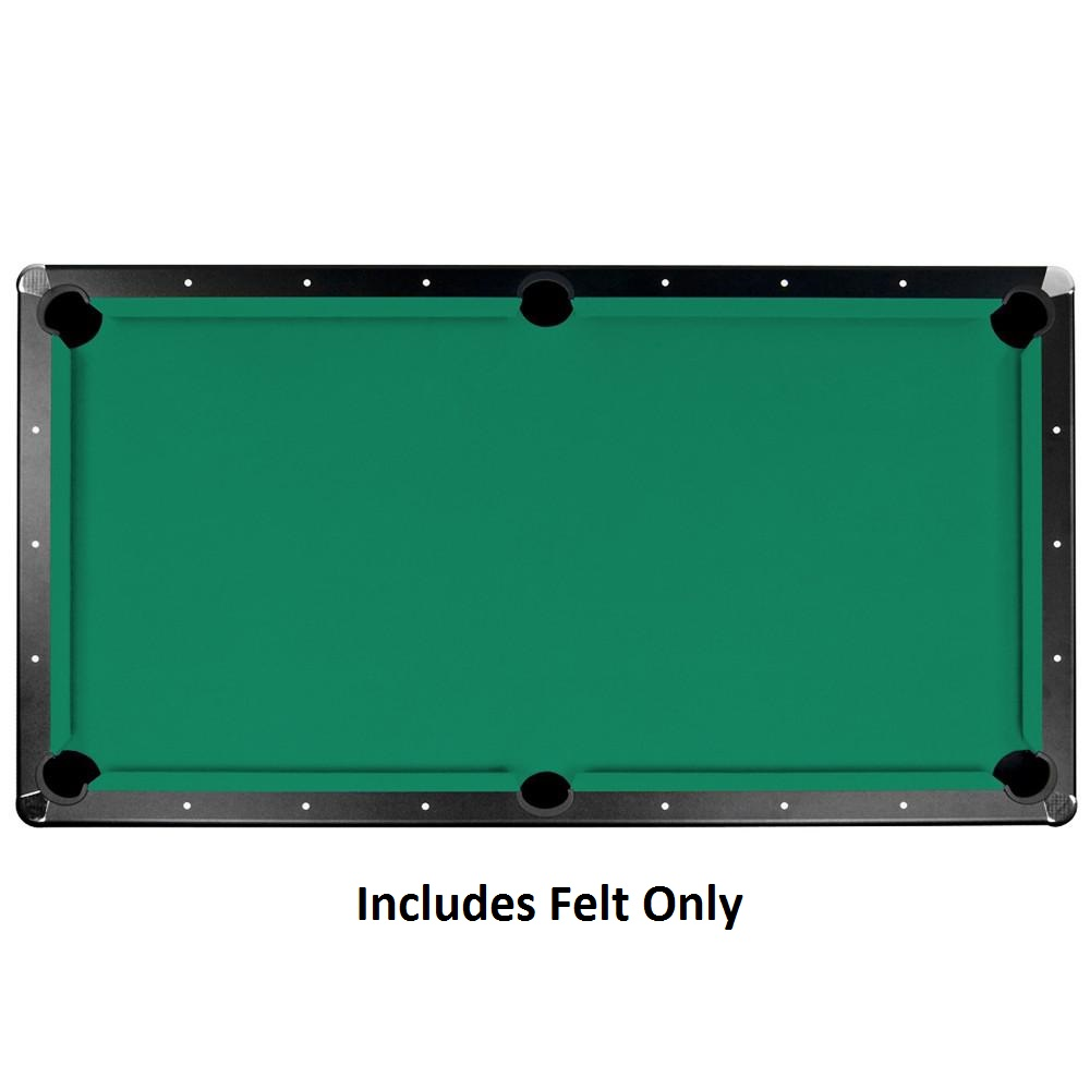 BlueWave Championship Saturn II Billiards Cloth Pool Table Felt-7 Ft.-Green by