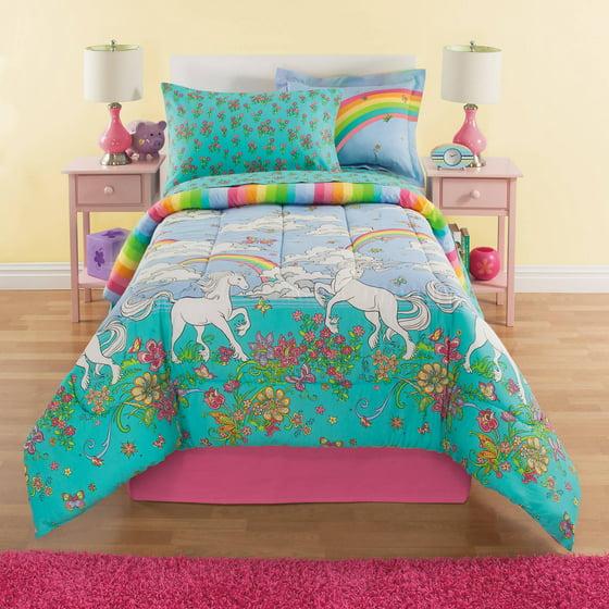 Kidz Mix Unicorn Bed In A Bag Set Walmart Com