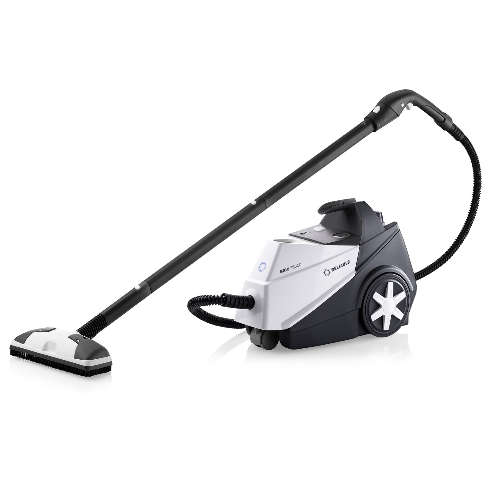 Reliable Brio 250CC Steam Cleaner with 21-Piece Accessory Kit