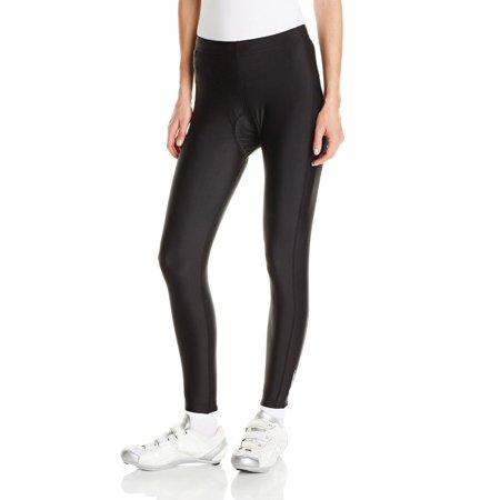 Canari Cyclewear Womens Gel Cycling Tight - W/ Chamois - 2645 (Black - (Ladies Chamois)