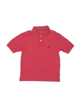 Pre-Owned Nautica Boy's Size 8 Short Sleeve Polo