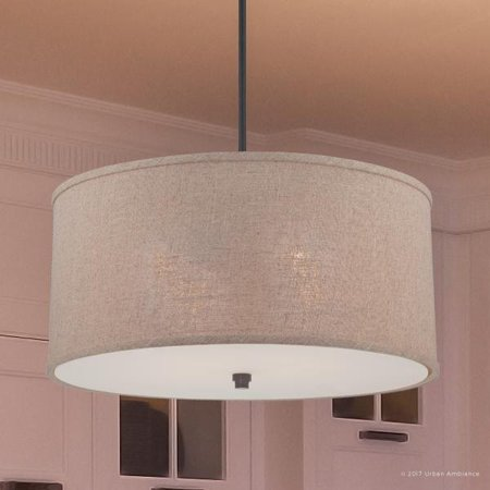 Urban Ambiance Luxury Modern Farmhouse Indoor Pendant or Chandelier, Large Size: 12