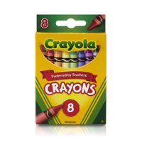 (2 Pack) Crayola Classic Crayons, School Supplies, 8 Count