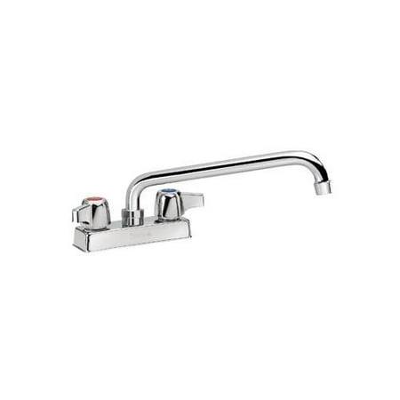 Center Deck Mount Faucet - Krowne Silver Series 4
