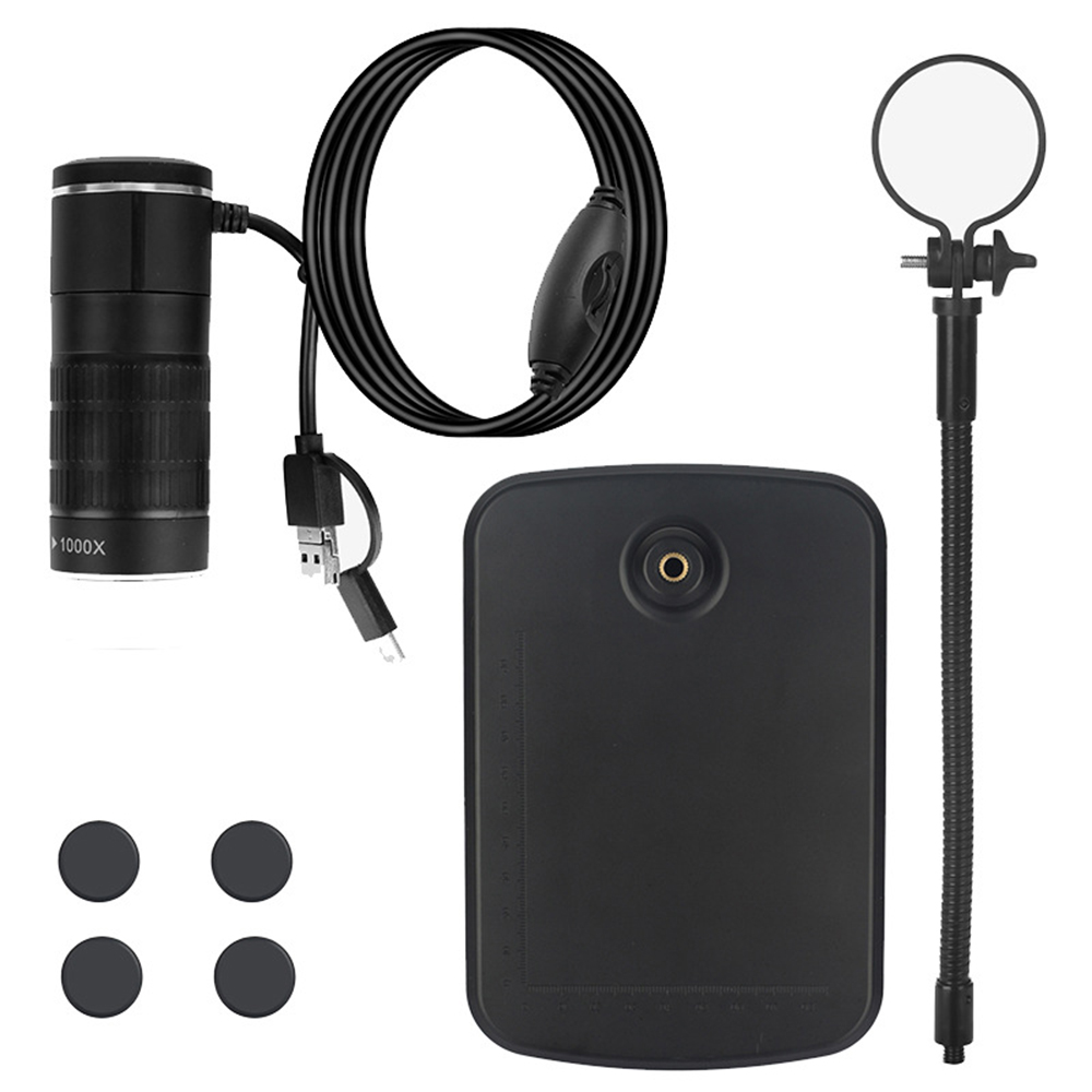 Three-in-One Mobile Phone Microscope Typec Android Computer Digital Microscope Childrens Microscope