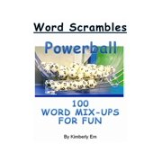 Powerball Word Scrambles: 100 Word Mix-Ups For Fun - eBook