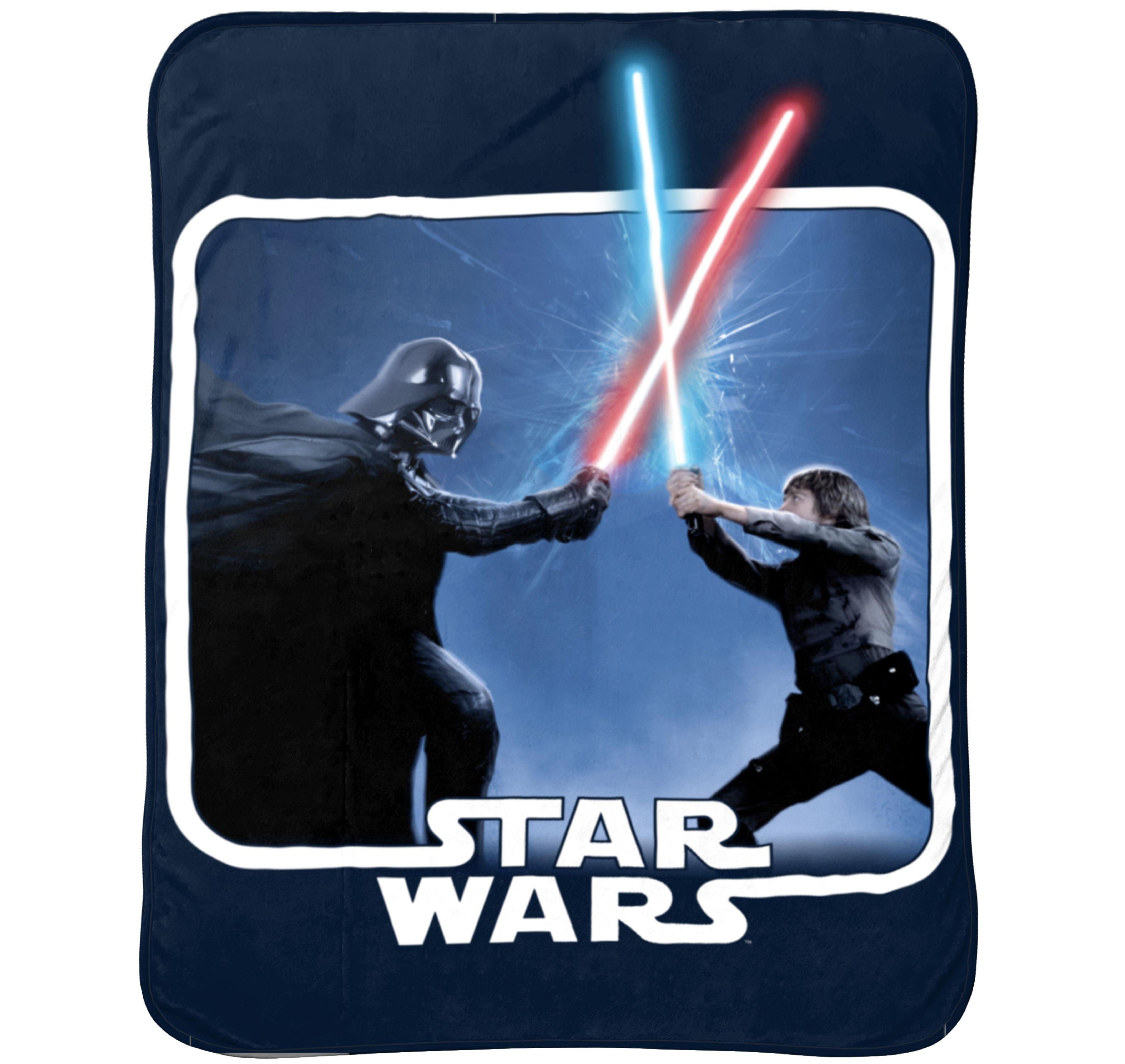 "Star Wars Classic 62"" x 90"" Plush Blanket, 1 Each"