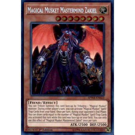 YuGiOh Spirit Warriors Magical Musket Mastermind Zakiel - Toy Muskets