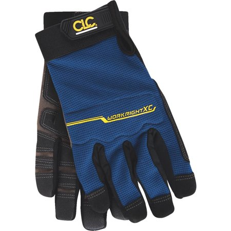 126X Workright Xtracoverage Gloves, Synthetic Leather, XLarge