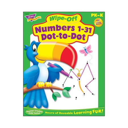 Trend enterprises numbers 1 31 dot to dot wipe off book print chaos trend enterprises numbers 1 31 dot to dot wipe off book altavistaventures Image collections