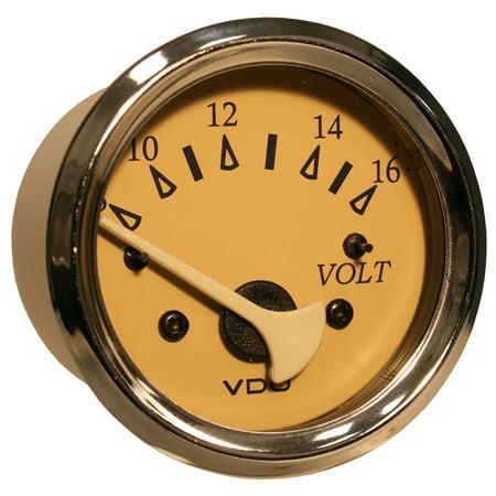 Vdo 18148057 Allentare Teak Voltmeter - 8-16v